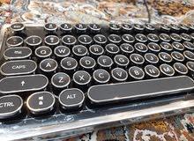 Ezio Retro USB Classical Mechanical Keyboard Brand New for Laptops, Desktops
