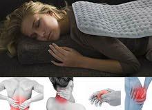 كمادة حرارية كهربائية لتخفيف الآلام والتدفئة بخامة قماشية ناعمة قابلة لإعادة الغسيل
