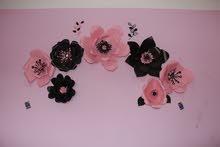 مجموعة زهور ديكور للغرفه