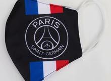 قناع وجه نادي باريس سانت جيرمان للكبار و الصغار Paris Seant German club Face Mask