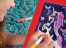 لوحة رسم ثلاثية الأبعاد للأطفال من سن 3 إلى 14 سنة