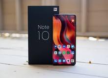 Mi Note 10 Pro متوفر لدى معارض Active mobile center