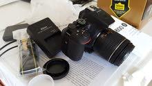 كاميرا Nikon D5600 مستعملة قليلاً جداً للبيع