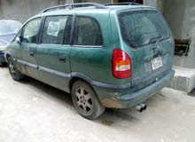Available for sale! 0 km mileage Opel Zafira 2000