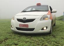 Orange Toyota Yaris 2010 for sale