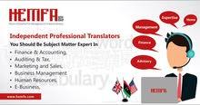 independent professional translators