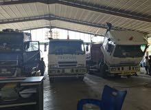مركز لصيانة الشاحنات