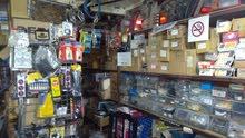 محل لبيع قطع الغيار ولوازمها
