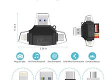 USB reader for mobile  and memory —-فلاش وقارئ