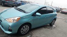 Turquoise Toyota Prius C 2014 for sale