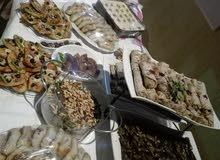 اكل وحلويات