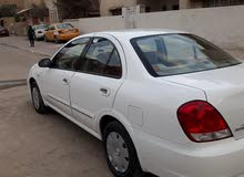 White Nissan Sunny 2010 for sale