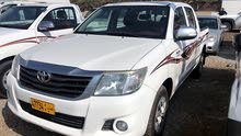 Toyota Hilux car for sale 2014 in Al Masn'a city