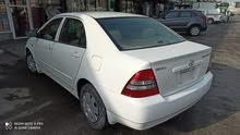 For sale Corolla 2004