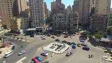 شقة 150م كلها علي الشارع بفوزي معاذ