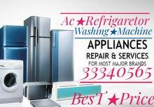 Ac & Fridge Washing machine Sale Fix,Hot Air,Clean,Gas Fill,Water Leak,Shift & A