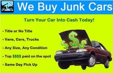 WE ARE BUYING USED NEW OLD MODEL VEHICLES