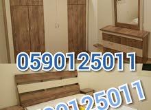 غرف نوم نفرين جديدة1300 شامل التوصيل والتركيب 0590125011