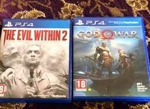 ps4  god of war and the evil within 2
