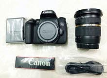 Canon 760d with Tamron 10-24 lens
