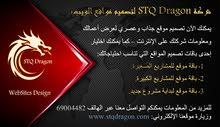 تصميم مواقع إلكترونية شركة STQ Dragon
