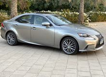 Beige Lexus IS 2014 for sale