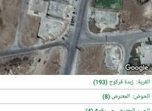 قطعة أرض مميزة في زبدة فركوح-أربد
