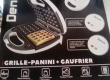 الة لصنع بانيني+لوحين خاصين بحلوى الغوفر