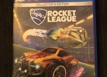 لعبة rocket League مع حساب لعبة gta v