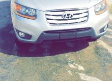 Silver Hyundai Santa Fe 2011 for sale