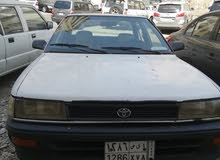 1992 Used Corolla with Manual transmission is available for sale