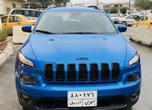 Blue Jeep Cherokee 2018 for sale