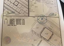 أرض سكني تجاري في العامرات  2 على الشارع الرئيسي المؤدي بوشر