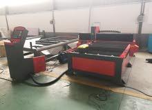 ماكينات بلازما لقطع الحديد والرسم علي لوح الحديد (الااميرا ) ويوجد لدينا راوتر ب