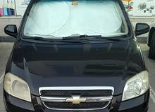 For sale Chevrolet Aveo car in Ajman