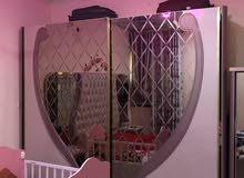 غرفه نوم للبيع مستخدمه اقل من سنه