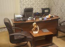 مكاتب مفروشة للأيجار الجزئي