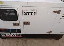 مولد انقليزي 22kva محرك باركينز اصلي