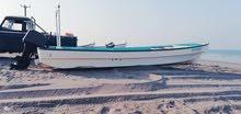 قارب 23 قدم لشكوه بدون مكينه