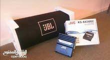 بازوقه JBL 1000 w + جي إم JVC