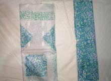 Cotton Block Print with Chicken trouser Pakistani 3 piece suit
