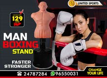 Man Boxing Stand