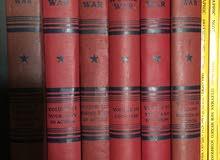 عدد 6 مجلدات مصورة عن الحرب العالمية الثانية