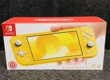 NINTENDO SWITCH Lite (yellow) نينتندو سويتش