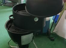 Brand New Smoking Stack Grill 24العلامة التجارية الجديدة تدخين الشواء