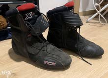 used tcx high top city motorcycle boots
