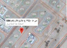 أرض سكني تجاري في العامرات النهضه مربع13 على شارع قار مطلوب43 ألف