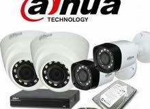 كاميرات مراقبة انتركم سنترال باناسونيك شبكات لاسلكية طفايات اجهزة انذار