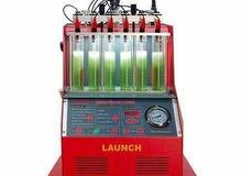 ماكينة تنظيف واختبار الرشاشات البنزين 6 رشاش لانش