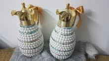 اجمل الهدايا اعياد الميلاد والزواج وعيد الام والولادة دلات فناجين رسم يدوي ستراس